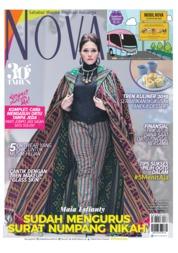 Cover Majalah NOVA ED 1601 Oktober 2018