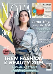 Cover Majalah NOVA ED 1603 November 2018