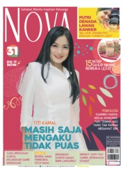 Cover Majalah NOVA ED 1627 April 2019