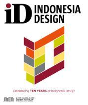 Cover Majalah INDONESIA design Anniversary 10 Years of Indonesia Design
