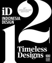 Cover Majalah INDONESIA design Anniversary 12th Anniversary Edition
