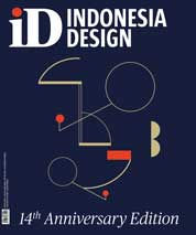 Cover Majalah INDONESIA design Anniversary 14th Anniversary Edition