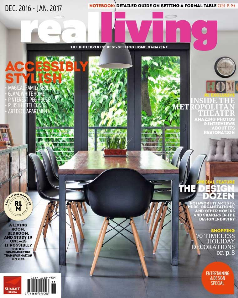 Real Living Philippines Magazine December January 2017