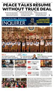 Cover Philippine Daily Inquirer 03 April 2017