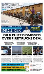 Cover Philippine Daily Inquirer 04 April 2017