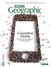 Cover Majalah ASIAN Geographic ED 135 April 2019