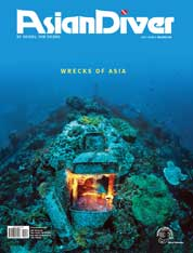 Asian Diver Magazine Cover ED 148 December 2017