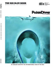 Asian Diver Magazine Cover ED 149 March 2018