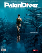 Asian Diver Magazine Cover ED 153 August 2019