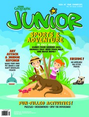 Cover Majalah Asian Geographic JUNIOR