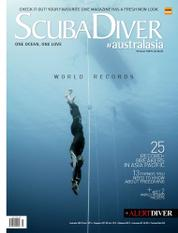 Scuba Diver Magazine Cover ED 07 October 2015