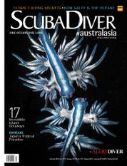 Scuba Diver Magazine Cover ED 03 May 2016