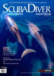 Scuba Diver Magazine Cover ED 07 December 2016