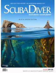 Scuba Diver Magazine Cover ED 02 May 2017