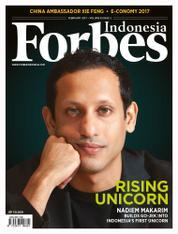 Cover Majalah Forbes Indonesia