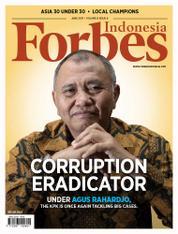 Cover Majalah Forbes Indonesia Juni 2017