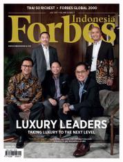 Cover Majalah Forbes Indonesia Juli 2017