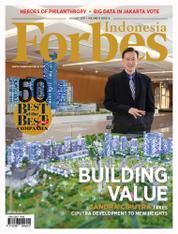 Cover Majalah Forbes Indonesia Agustus 2017