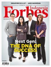 Cover Majalah Forbes Indonesia September 2017