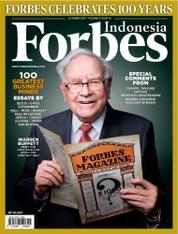 Cover Majalah Forbes Indonesia Oktober 2017