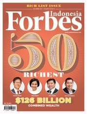 Cover Majalah Forbes Indonesia Desember 2017