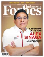 Cover Majalah Forbes Indonesia Januari 2018