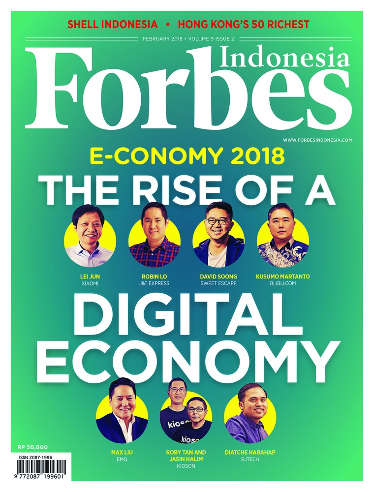 Majalah Digital Forbes Indonesia Februari 2018