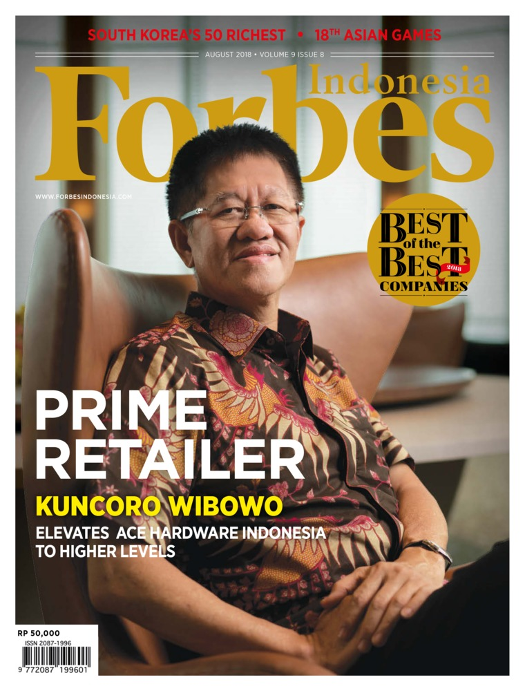 Majalah Digital Forbes Indonesia Agustus 2018