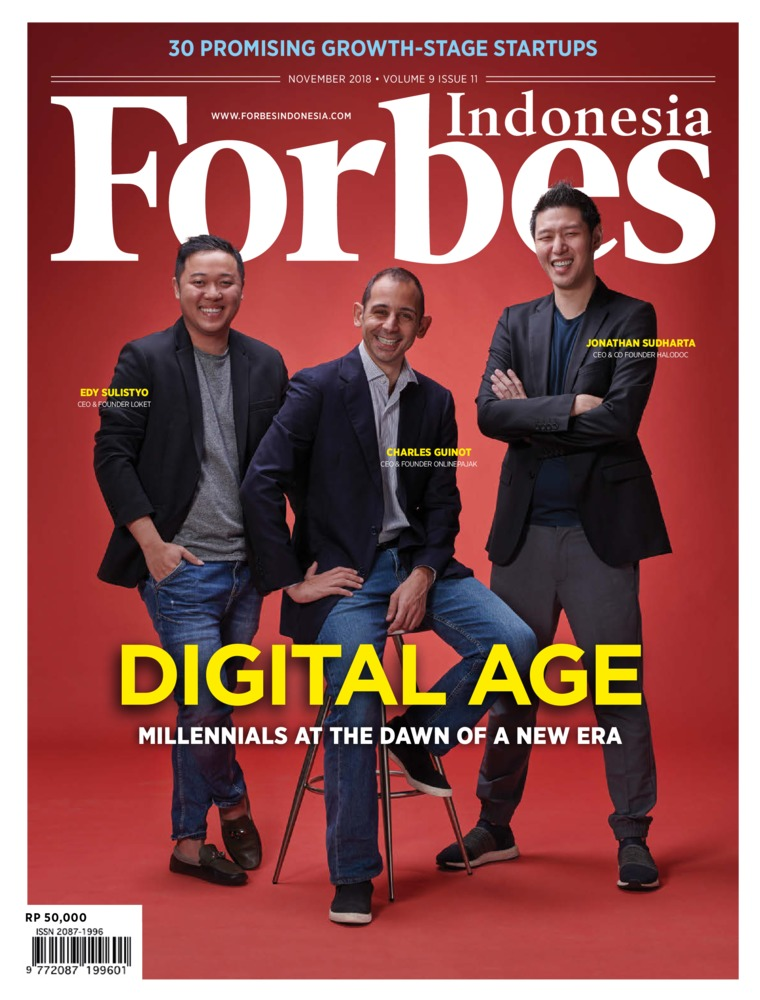 Majalah Digital Forbes Indonesia November 2018