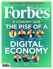 Cover Majalah Forbes Indonesia Februari 2018