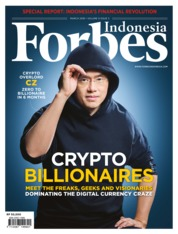 Cover Majalah Forbes Indonesia Maret 2018