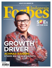 Cover Majalah Forbes Indonesia Mei 2018
