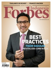 Forbes Indonesia Magazine Cover