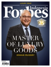 Forbes Indonesia Magazine Cover July 2018