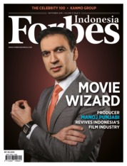 Cover Majalah Forbes Indonesia September 2018