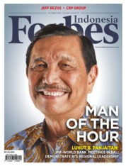 Forbes Indonesia Magazine Cover October 2018