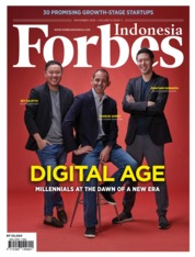 Cover Majalah Forbes Indonesia November 2018