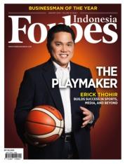 Cover Majalah Forbes Indonesia Januari 2019
