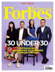 Forbes Indonesia Magazine Cover February 2019
