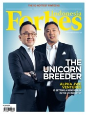 Cover Majalah Forbes Indonesia Maret 2019