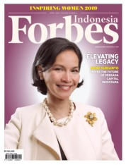 Forbes Indonesia Magazine Cover April 2019