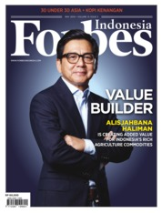 Forbes Indonesia Magazine Cover May 2019
