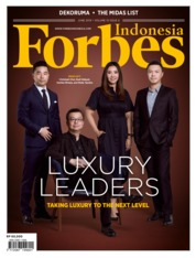 Forbes Indonesia Magazine Cover June 2019