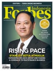Cover Majalah Forbes Indonesia Juli 2019