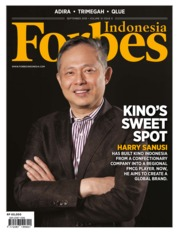 Cover Majalah Forbes Indonesia September 2019