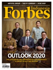 Forbes Indonesia Magazine Cover October 2019
