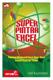 Super Pintar Excel by Adi Kusrianto Cover