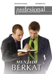 Cover Majalah Renungan Profesional September 2017