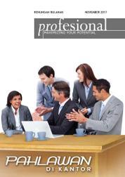 Cover Majalah Renungan Profesional November 2017
