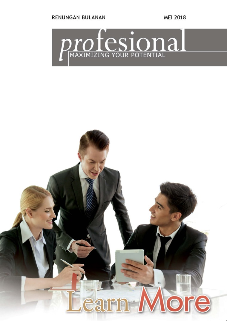 Renungan Profesional Digital Magazine May 2018